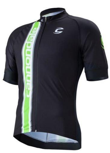 Cannondale Fietsshirt Elite Pro heren zwart/groen maat S