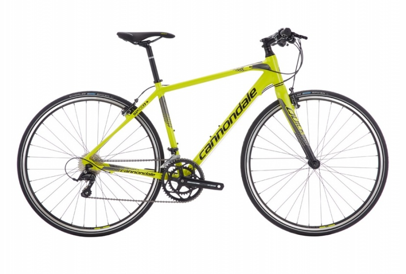 Cannondale Quick Speed 3 28 Inch 52 cm Heren 18V V Brake Geel