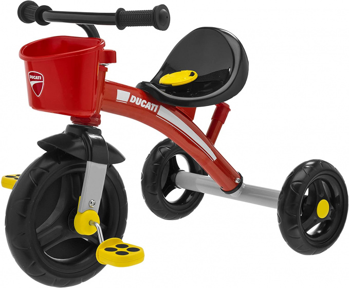 Chicco driewieler Ducati Junior Zwart/Rood