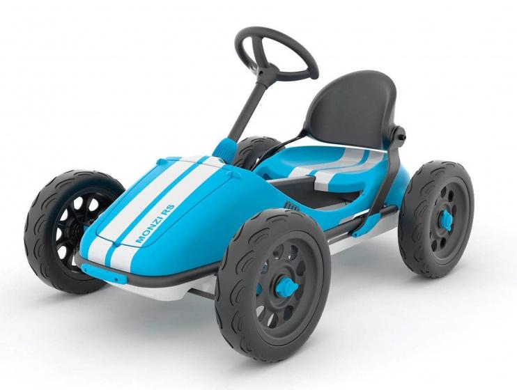 Chillafish Monzi RS trapauto 12 Inch Jongens Vrijloop Blauw
