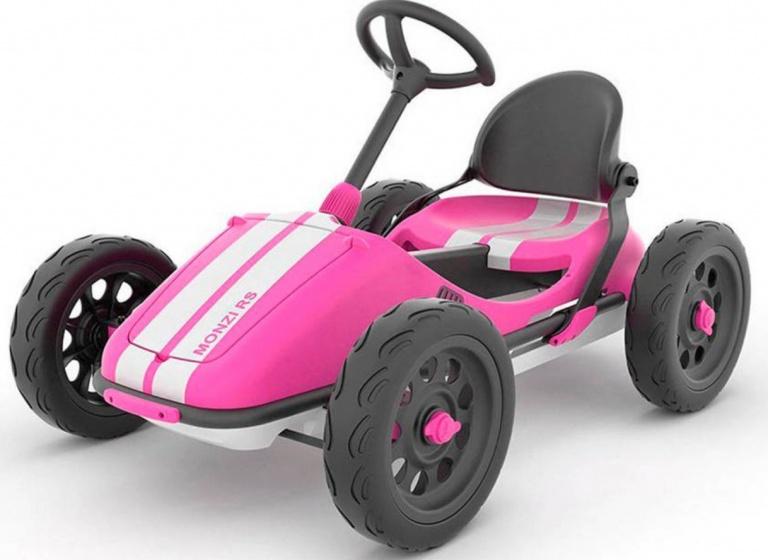 Chillafish Monzi RS trapauto 12 Inch Meisjes Vrijloop Roze