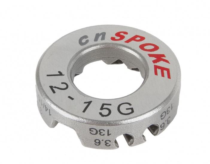cnSPOKE Spaaksleutel 3,2 / 3,4 / 3,6 / 3,9 mm Staal