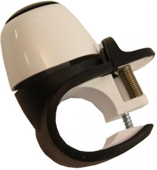 Compact Ii - Fietsbel Mini Zwart/wit