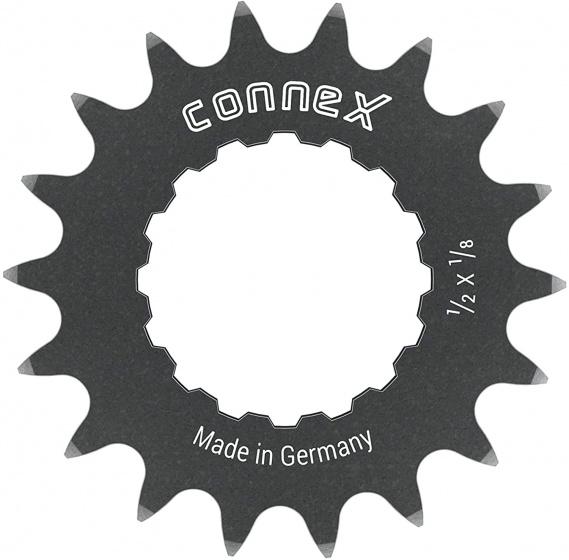 Wippermann tandwiel Connex Reinforced Z18 1/2 x 1/8 staal grijs