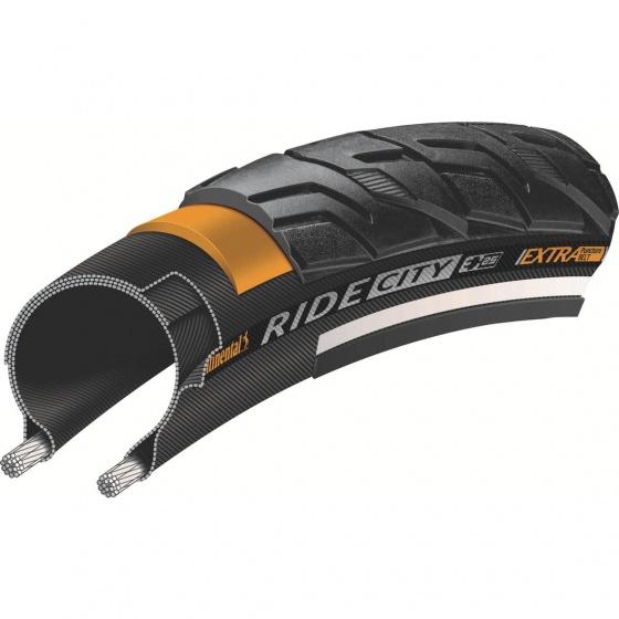 Continental buitenband Ride City 28 x 1.25 (32 622) zwart