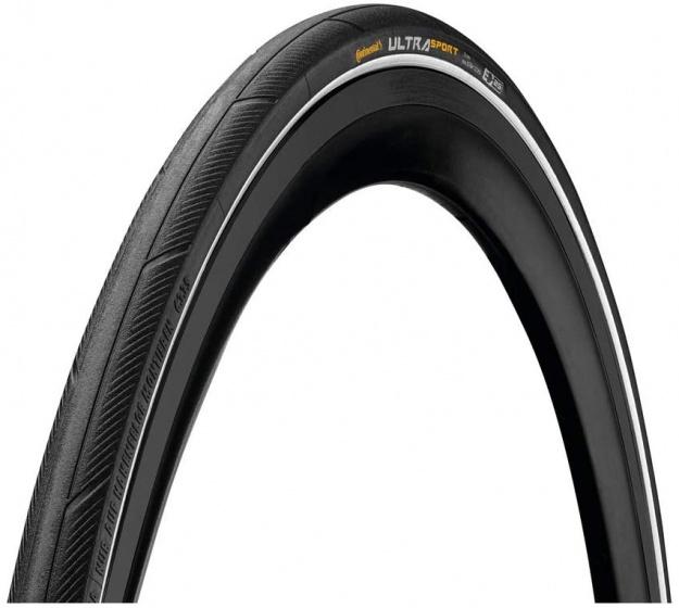 Continental buitenband Ultra Sport III 28 x 1 inch (25 622) wit