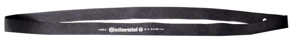 Continental Velglint 16 20 inch x 20 mm zwart per stuk