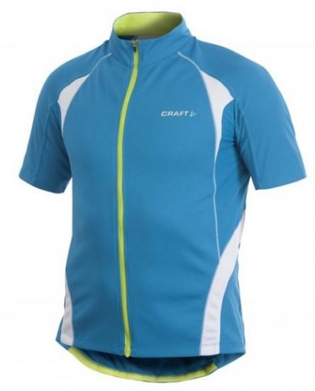 Craft Fietsshirt Active Jersey Heren blauw maat S