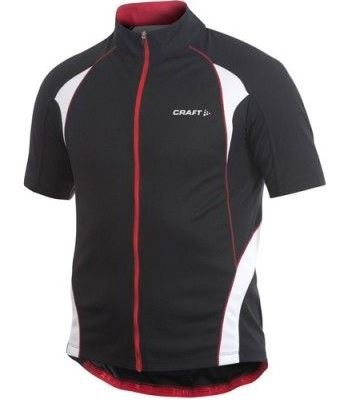 Craft Fietsshirt Active Jersey Heren zwart maat S