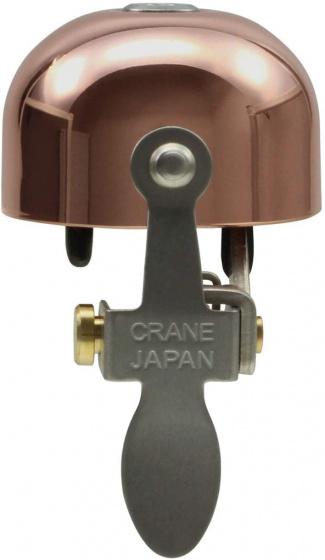 Crane fietsbel E NE 5 x 3,7 cm staal koper