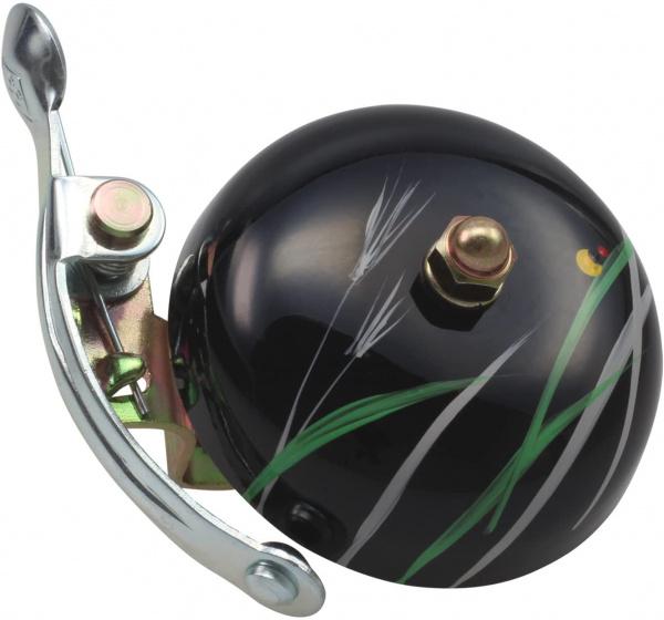 Crane fietsbel Suze Hotaru 5 x 5,5 cm staal zwart
