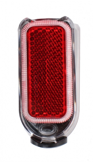 Korting Cycle Tech Achterlicht Spatbord 4 Lumen Batterij Led Zwart