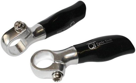 Cycle Tech bar ends 10,5 cm kunststof aluminium 2 stuks