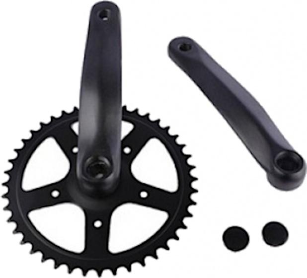 Cycle Tech crankstelset 44T 170 mm staal zwart