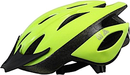Korting Cycle Tech Fietshelm Fluo Pearl Groen Maat 54 58 Cm