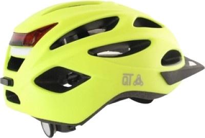 Cycle Tech fietshelm met reflector Urban maat 58/62 cm geel