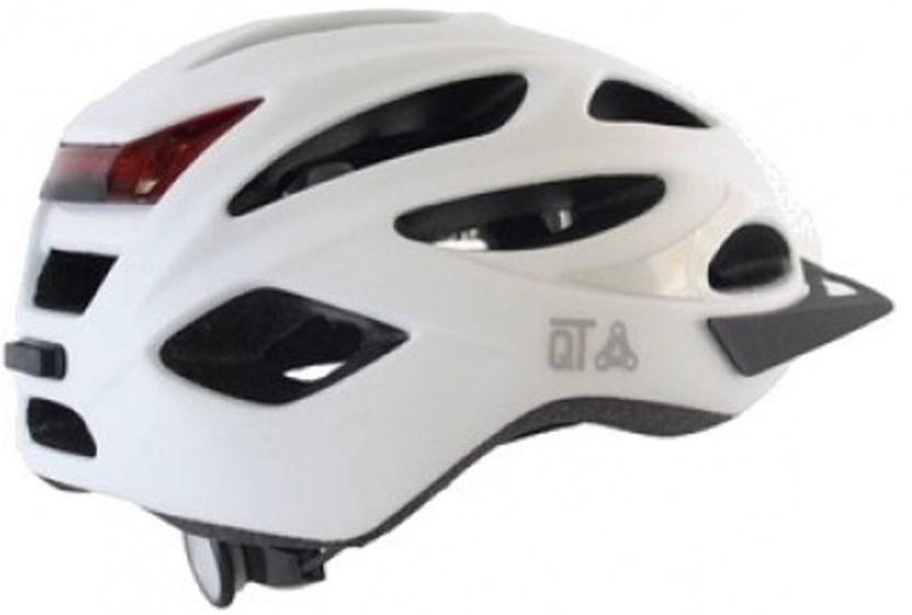 Cycle Tech fietshelm met reflector Urban maat 58/62 cm wit