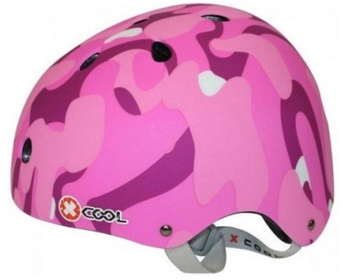 Cycle Tech fietshelm XCool roze maat 48/54 cm