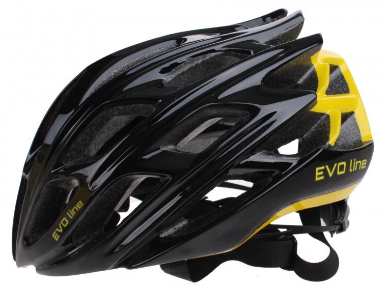 Cycle Tech helm unisex zwart/geel maat 51 55 cm