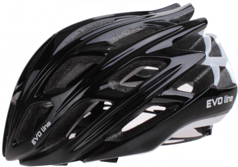 Cycle Tech helm unisex zwart/wit maat 50 56 cm