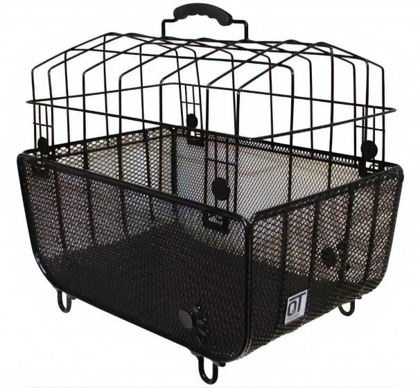 Cycle Tech hondenmand Padua 2.0 met koepel 55 liter zwart