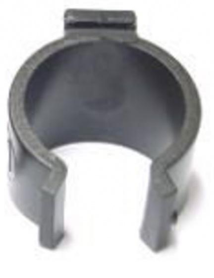 Cycle Tech jasbeschermer clip Lucra PVC 20 mm per stuk grijs