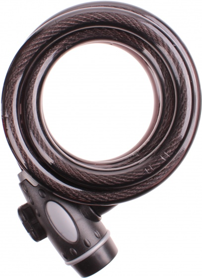 Cycle Tech spiraalslot zwart 1500 x 12 mm