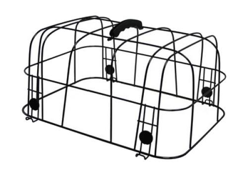 Cycle Tech koepel voor hondenmand 38 x 28 x 18 cm zwart