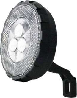 Cycle Tech koplamp batterij 3 led zwart