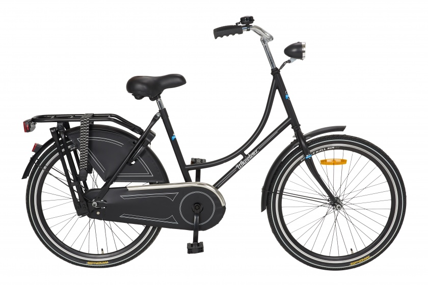 Cycle Tech Oma Wheelerz 24 Inch 43 cm Meisjes Terugtraprem Zwart
