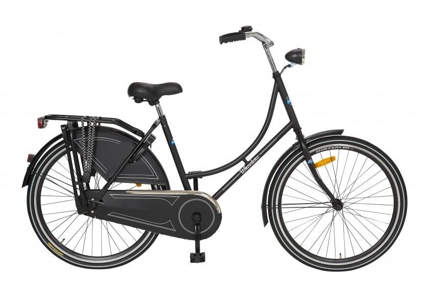 Cycle Tech Oma Wheelerz 26 Inch 49 cm Meisjes Terugtraprem Zwart