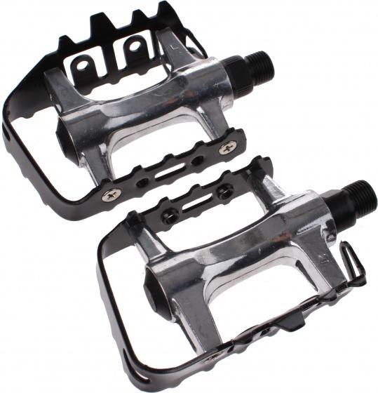 Cycle Tech platformpedalen 9/16 inch MTB zwart/zilver Onderdelen & Accessoires Zwart,Zilver Platformpedalen Voor 16:00 uur besteld, dezelfde dag verzonden