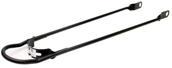 Cycle Tech spatbordstang met bumper 28 x 1,5 inch staal zwart