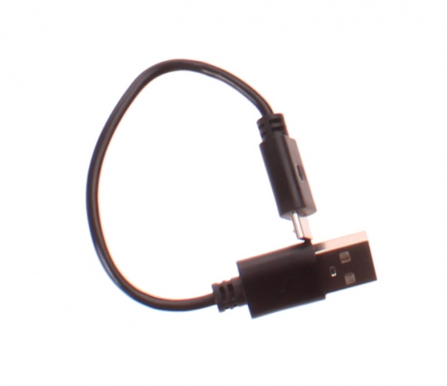 Cycle Tech verlichtingsset USB oplaadbaar led zwart 11 cm