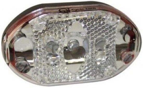 Cycle Tech voorlicht batterij led zwart