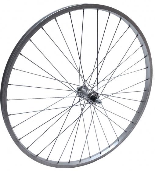 Cycle Tech voorwiel EC0301C 26 1.75 inch aluminium zilver