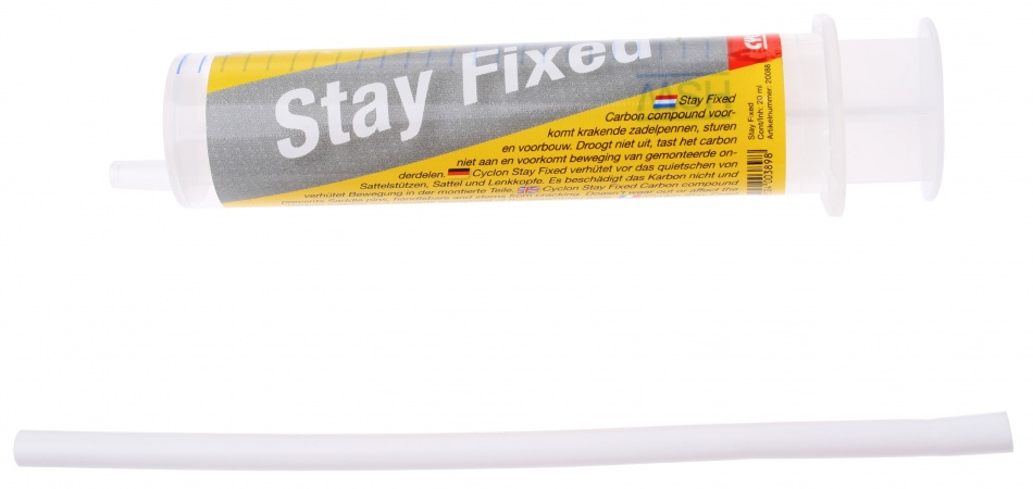 Cyclon Stay Fixed Carbon Montage Pasta Doseer Systeem 20ml