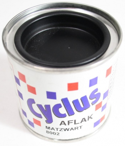 Cyclus Lak Mat Zwart 8002 100 ml