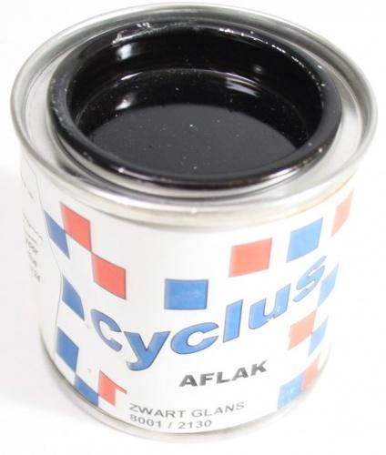 Cyclus Lak Zwart Glans 100 ml