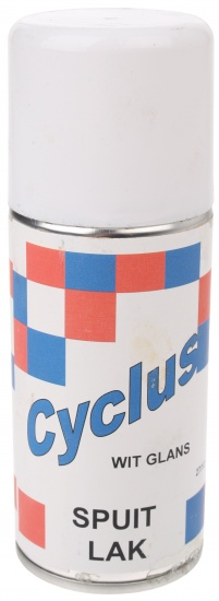 Cyclus Spuitlak Wit Glans 150ml