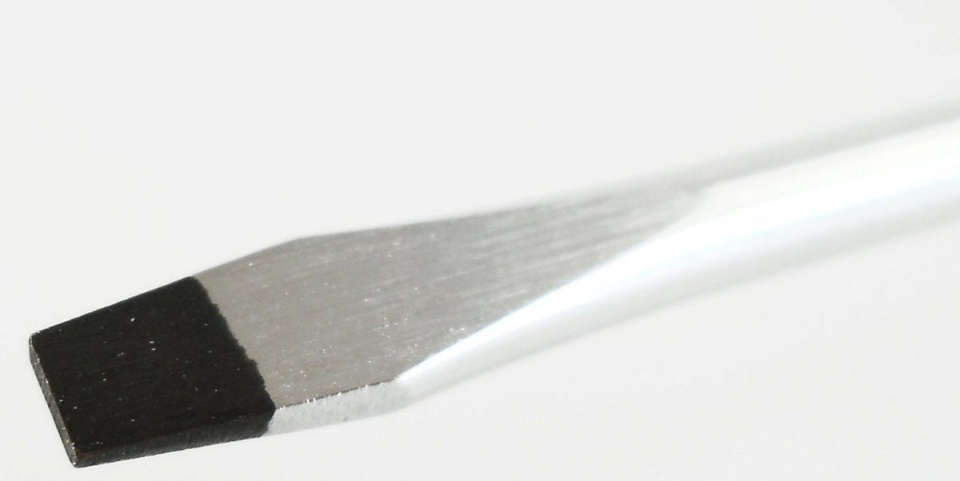 Cyclus Tools platbek schroevendraaier 4 mm zwart 19 cm