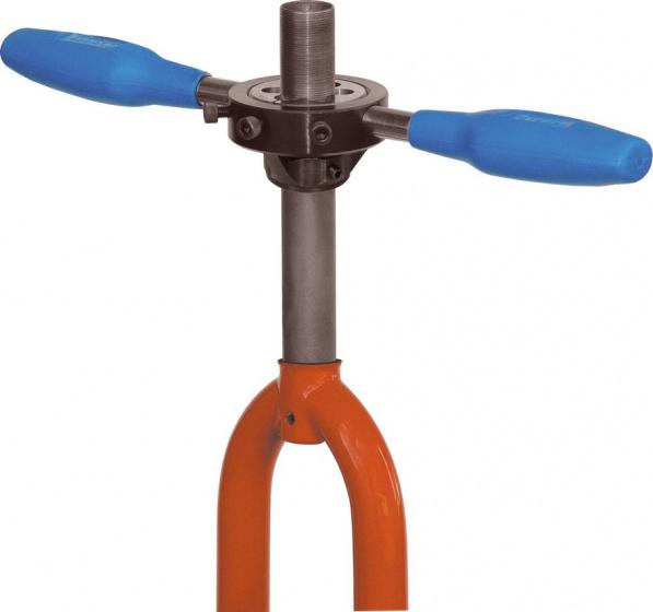 Cyclus Tools voorvorkconusfreeshouder 1 inch / 22 mm staal blauw