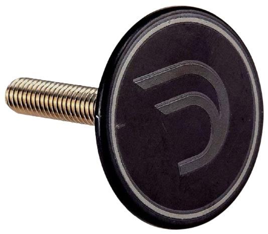 Korting Deda Balhoofdplug Top Cap Magnetisch Staal 1 1 8 Inch Zwart