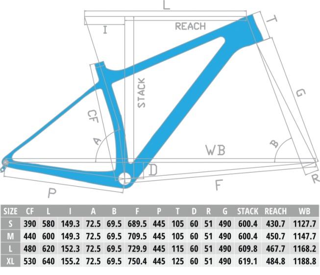 Deed Vector Pro 294 29 Inch 39 cm Heren 11V Hydraulische schijfrem Blauw/Zwart