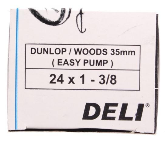 DeliTire Binnenband 24 x 1 3/8 (32/37 540) DV 35 mm