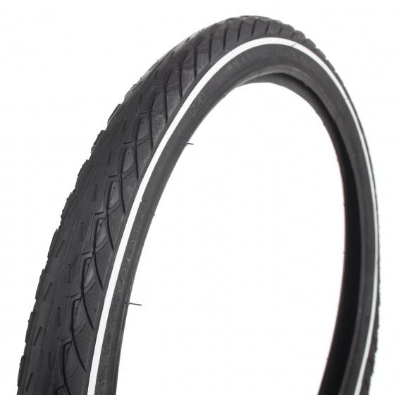 DeliTire Buitenband BMX Reflectie 20 x 1.75 (47 406) zwart