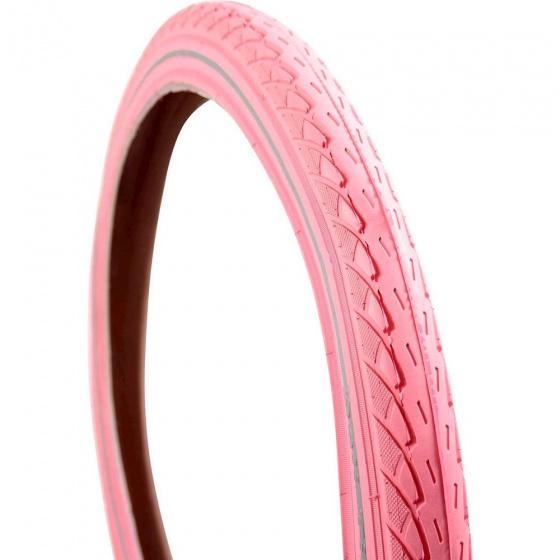 DeliTire buitenband 22 x 1.75 (47 457) rubber reflectie roze