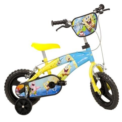 Dino 125XL2 Spongebob 12 Inch Jongens V Brake Geel