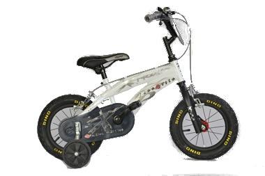Dino 125XS EX 12 Inch Jongens V Brake Ivoorwit