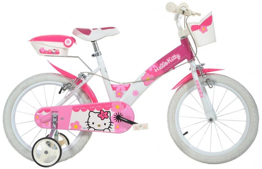 Dino 156N HK Hello Kitty 16 Inch Meisjes V Brake Roze